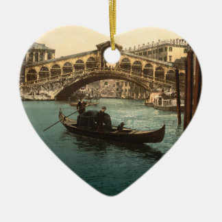 Rialto Bridge I, Venice, Italy Christmas Ornament