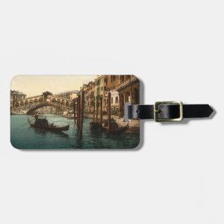Rialto Bridge I, Venice, Italy Luggage Tag