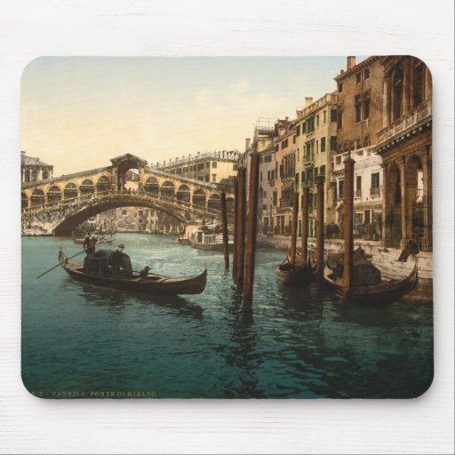 Rialto Bridge I, Venice, Italy Mouse Pad