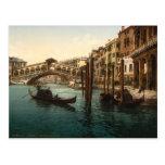 Rialto Bridge I, Venice, Italy Postcard