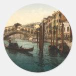 Rialto Bridge I, Venice, Italy Stickers