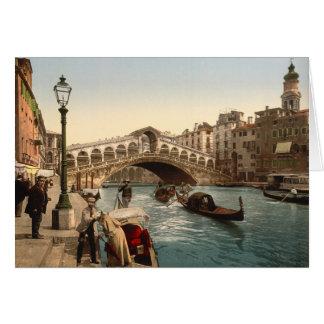 Rialto Bridge II, Venice, Italy Card