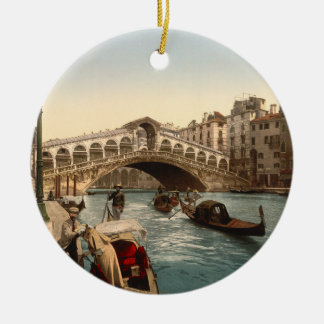 Rialto Bridge II, Venice, Italy Christmas Ornament