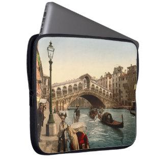 Rialto Bridge II, Venice, Italy Laptop Sleeve