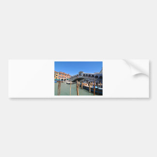 Rialto Bridge in Venice, Italy Bumper Sticker