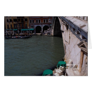 Rialto Bridge on the Grand Canal Greeting Cards