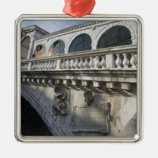 Rialto Bridge over the Grand Canal Venice Italy Christmas Ornament