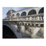Rialto Bridge over the Grand Canal Venice Italy Postcard