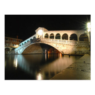 Rialto Bridge Post Card
