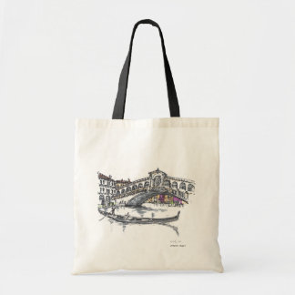 Rialto bridge tote bag