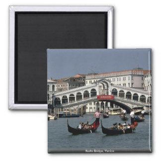 Rialto Bridge Venice Fridge Magnet