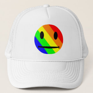 Rianbow Smiley Hat