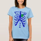 rib cage heart T-Shirt
