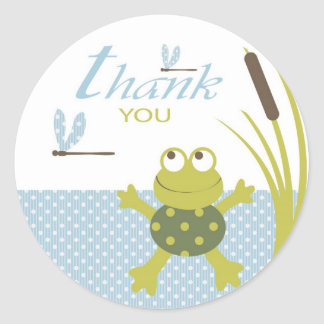 Ribbit Birthday TY Sticker
