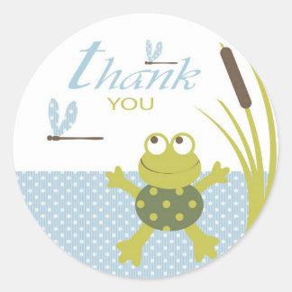 Ribbit Birthday TY Sticker