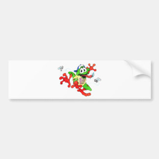 RIBBIT BUMPER STICKER