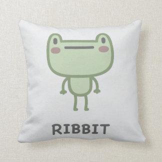 Ribbit Cushion