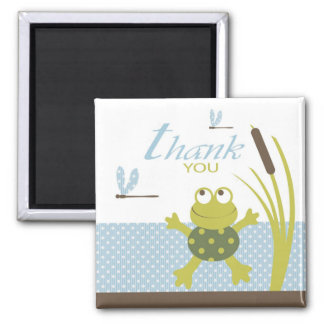 Ribbit Frog and Dragonfly Magnet