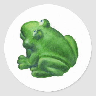 Ribbit Frog Stickers