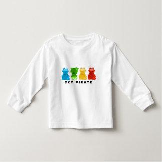 """Ribbit"" Long Sleeved Childrens Shirt"