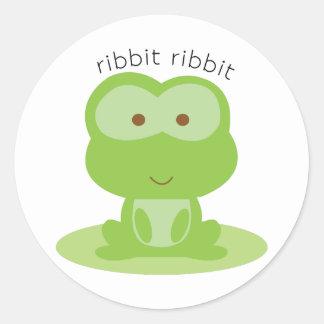 Ribbit Ribbit Sticker