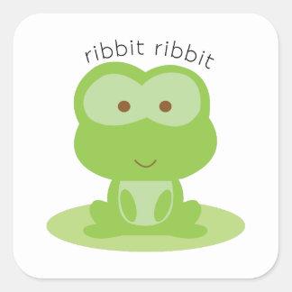 Ribbit Ribbit Stickers