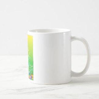 Ribbon and Star Christmas Tree Coffee Mug