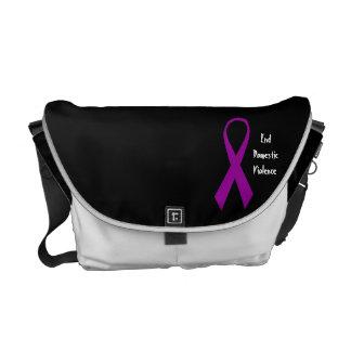 Ribbon Awareness Messenger Bag