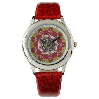 Ribbon Bows Fractal Watch