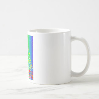 Ribbon Christmas Tree Coffee Mug