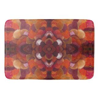 ribbon flower bathmat bath mats