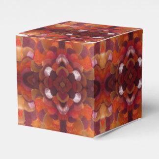 ribbon flower gift box favour box