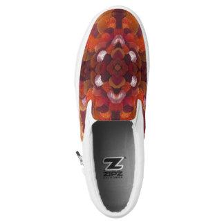 ribbon flower shoes