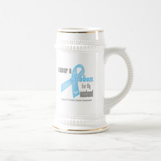 Ribbon For My Husband - Prostate Cancer Mugs
