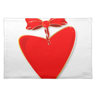Ribbon Heart Placemat