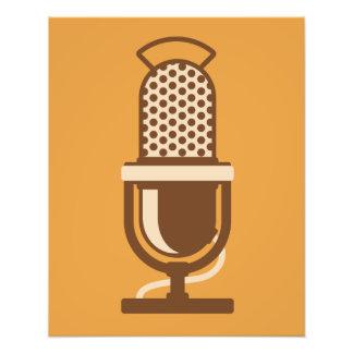 Ribbon Microphone Logo Photo