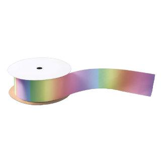 Ribbon - Rainbow Colors - Vertical Satin Ribbon