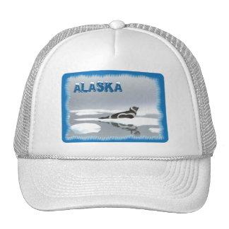 Ribbon Seal On Ice Trucker Hat