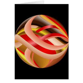 Ribbon Sphere Card