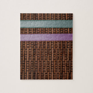 Ribbon Stripes Jigsaw Puzzle