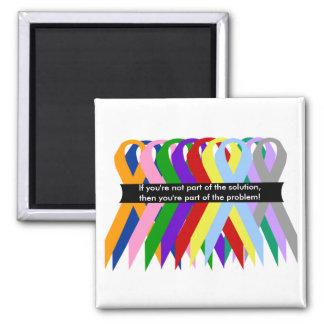 Ribbons together magnet