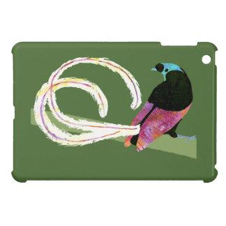 Ribbontail Bird ipad mini case