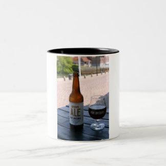 Ribe beer Two-Tone mug