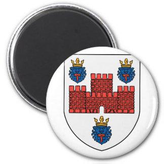 ribe, Denmark 6 Cm Round Magnet