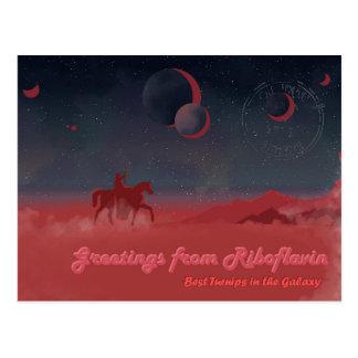 Riboflavin Postcard