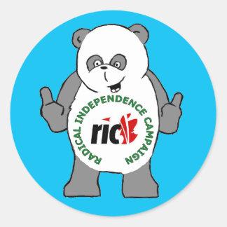 RIC Panda Sticker