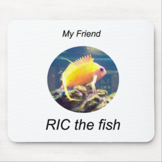 RIC the Fish Mouse Pad