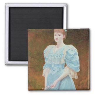 Rica - his daughter, 1894 magnet