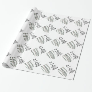 Ricci Flow Solution Poincaré Conjecture (Geometry) Gift Wrapping Paper