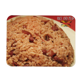 Rice and Peas Refrigerator Magnet